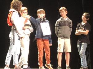 Atelier collège théâtre 2018