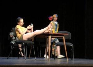 Pratique amateur collège théâtre