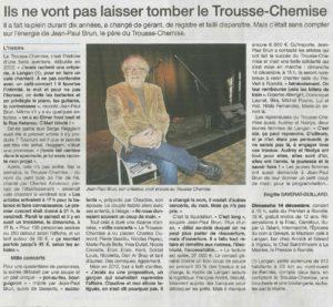 Presse Lui et Moi Trousse Chemise