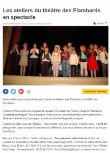 Ecole de théâtre juin2015