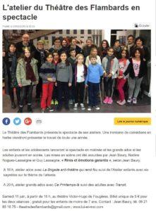Ateliers amateurs Fougères Ouest France